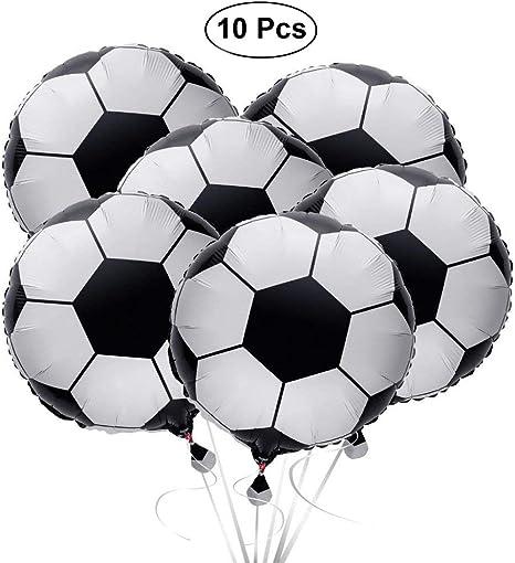 SAIYU Globos de fútbol Globos de fútbol Globo de Papel de Aluminio ...