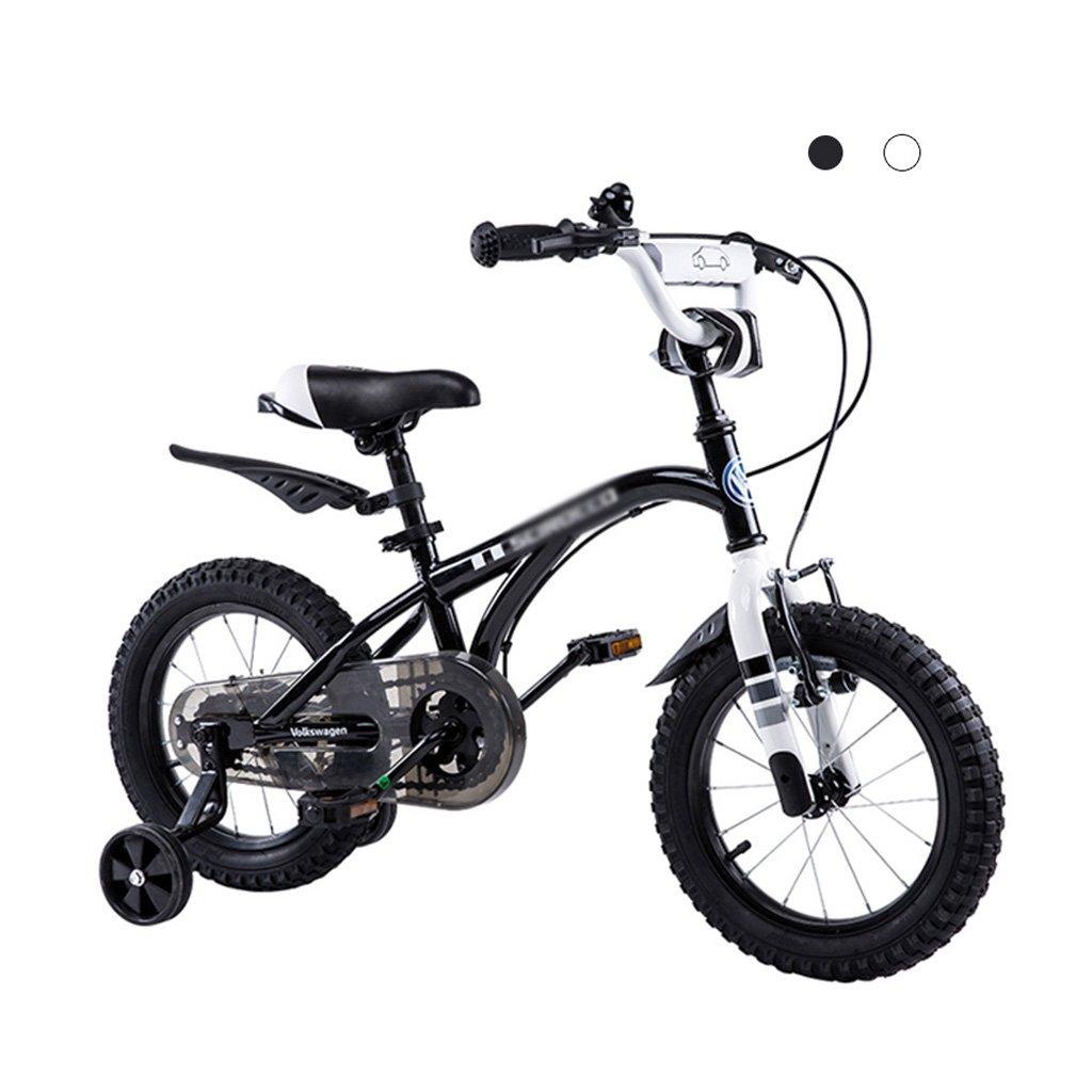 キッズバイク 子供用自転車 12インチ SGS認定 ベビーカー 3-9歳 男の子 サイクリングアクセサリー 12 inches ブラック B07JV7WFZV  ブラック 12 inches