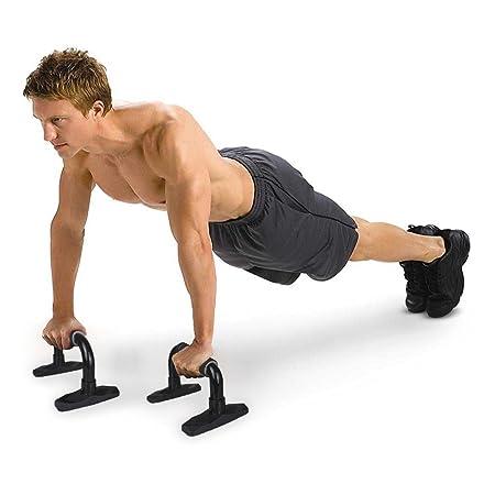 Pulchra- Agarraderas para flexiones, antideslizante, inclinadas, para practicar ejercicio, fitness, ejercitar los músculos, entrenar: Amazon.es: Deportes y ...