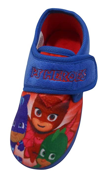 PJ Masks Pierce Boys Slippers Size 10