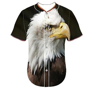 3d impresión Kids Jersey jerseys águila calva Pqno Arc parte ...