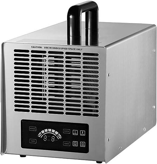 Generador de ozono comercial 28000mg/h, purificador de aire O3 ozonizador e ionizador Limpiador de aire pesado desodorizador y esterilizador El para el control de la parada del olor elimina y retrasa: Amazon.es: