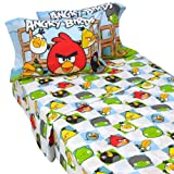 Angry Birds Full Sheet Set-OPEN BOX_ NEVER BEEN USEDs