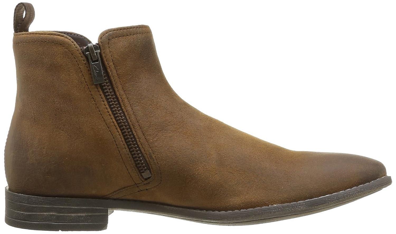 Clarks Chart Zip, Men's Biker Boots, Brown (Tobacco Suede), 6 G UK:  Amazon.co.uk: Shoes & Bags
