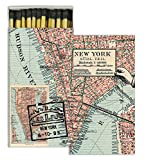 HomArt Matches - Map - New York (Set of 12)