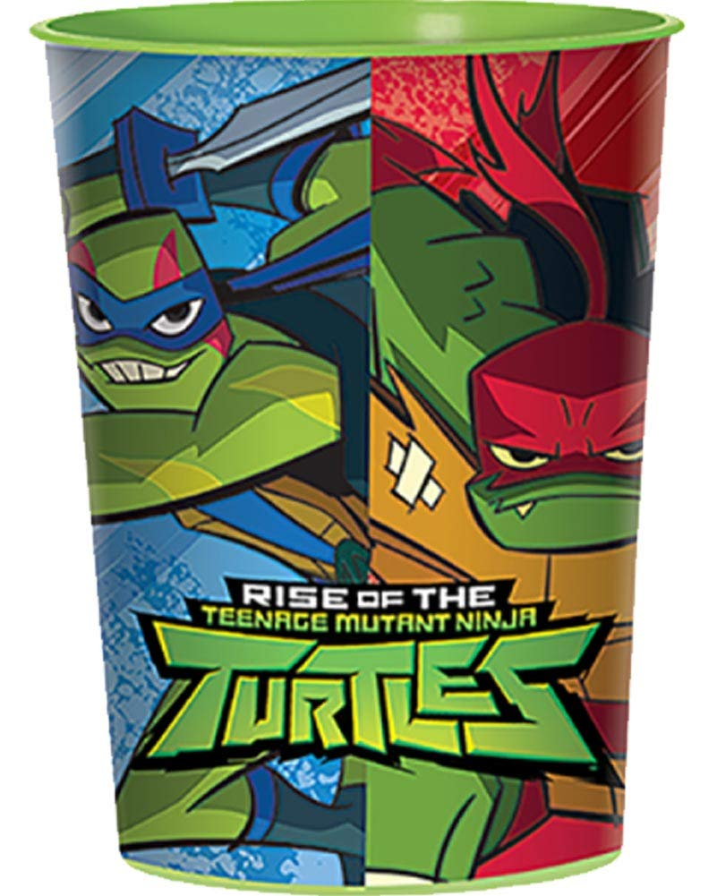 Amscan Rise of The Teenage Mutant Ninja Turtles 16 OZ. Plastic Favor Cup (1)