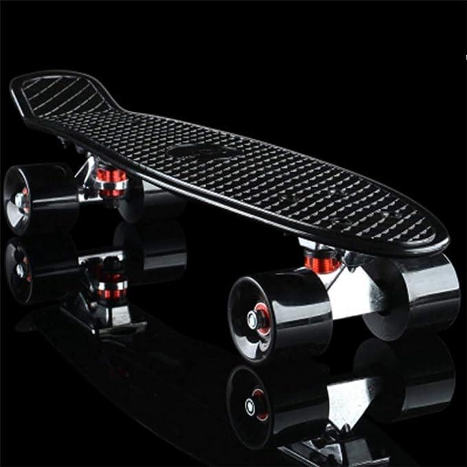 Skateboard completo in stile retr/ò con uno strumento a T per principianti Gelory Penny Board ragazzi e adulti per bambini