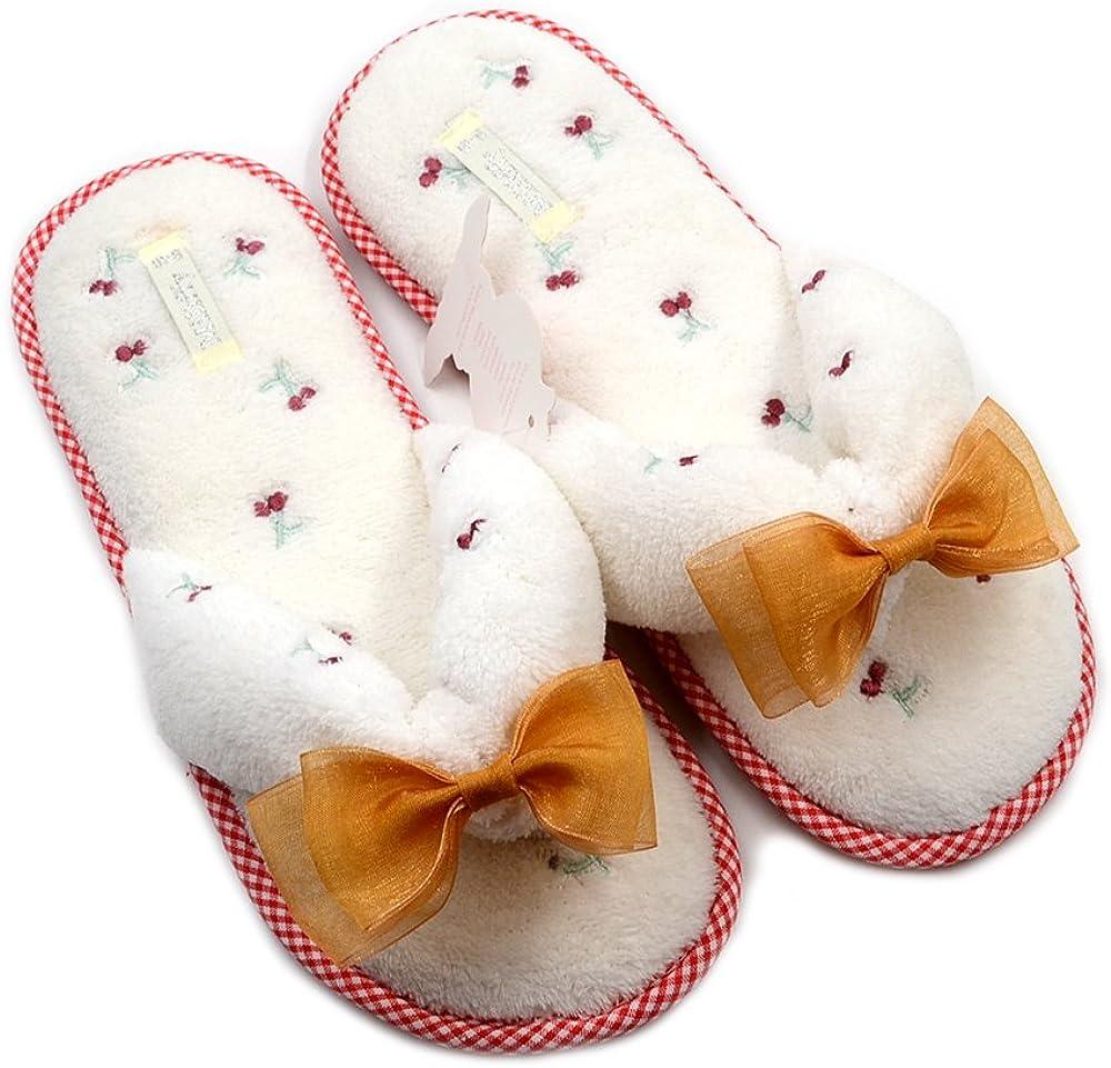 Millffy Home Floor Soft Coral Velvet Fleeces Slippers Shoes flip Flops Japanese-Style Slippers