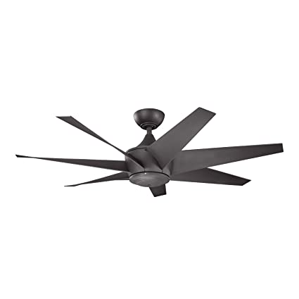 Kichler 310112dbk lehr ii climates 54in wet location high efficiency kichler 310112dbk lehr ii climates 54in wet location high efficiency dc ceiling fan distressed black mozeypictures Choice Image