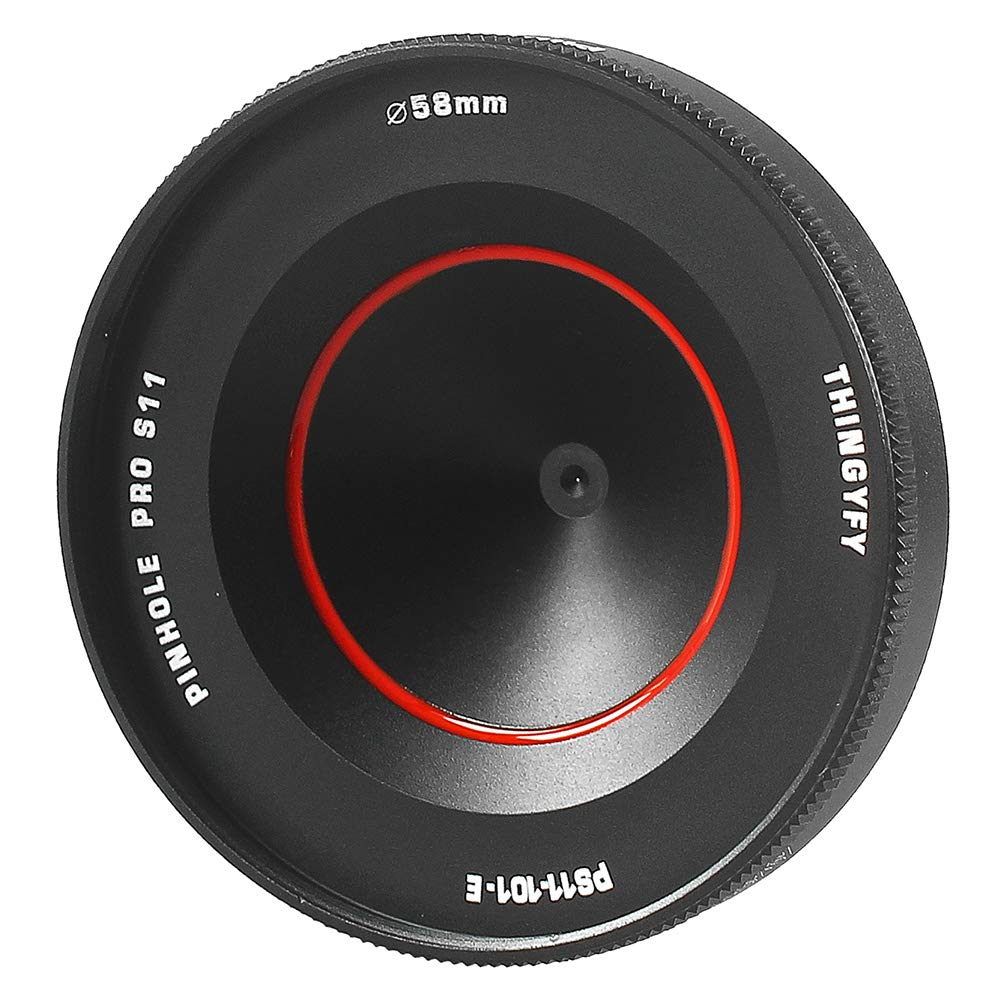 Pinhole Pro S   Widest Professional Pinhole Lens - Boasting 11mm & 37mm Wide-Angle Focal Lengths with Up to 120° Field of View - Soney by Thingyfy
