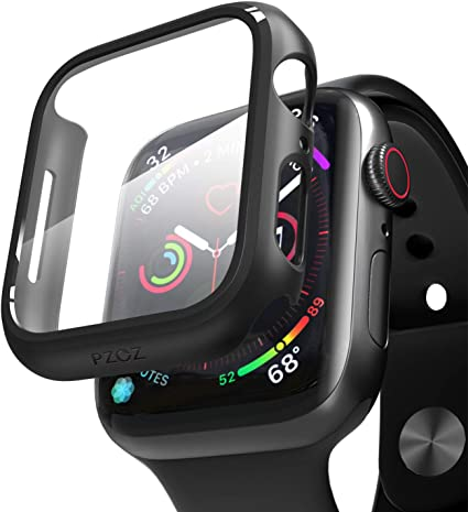 Amazon.com: pzoz - Carcasa para Apple Watch Serie 5 y Serie ...
