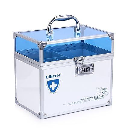 Amazoncom AZDENT Combination Lock Box for Medication Child Proof