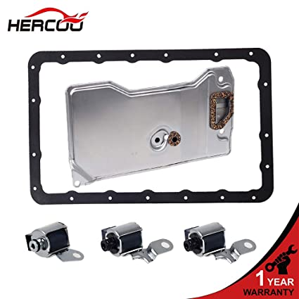 Amazon com: HERCOO A340E A340F with Filter Gasket Kit Transmission