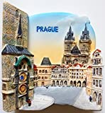 Old Town Hall and Astronomical Clock PRAGUE Resin 3D fridge Refrigerator Thai Magnet Hand Made Craft. by Thai MCnets