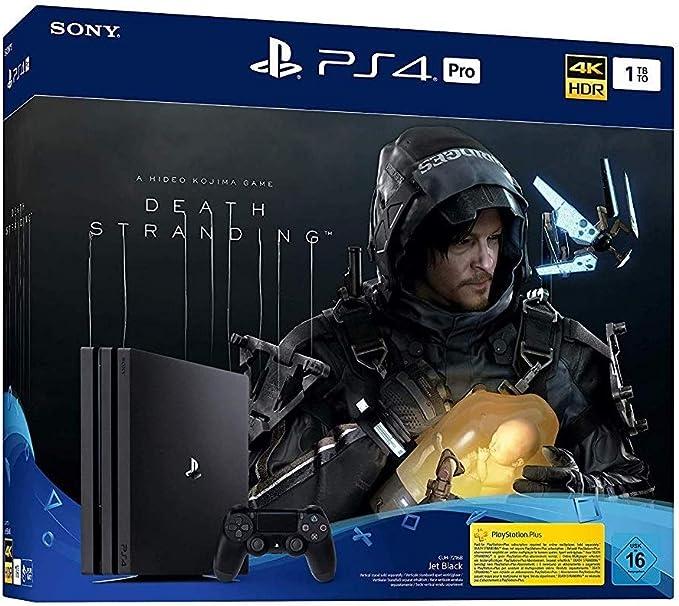 PlayStation 4 Pro - Konsole inkl. Death Stranding (1TB, schwarz, Pro) [Importación alemana]: Amazon.es: Videojuegos