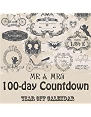 Mr & Mrs 100 day tear-off Countdown Calendar: Counting down until the Big Day!