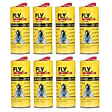 Best Victor-insect-traps - Chrikathy 8 Rolls Flies Sticker Eliminate Flies Insect Review