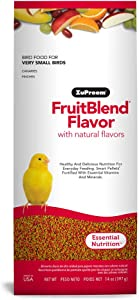 Zupreem 230305 Fruitblend X-Small Canary/Finch Food, 14-Ounce