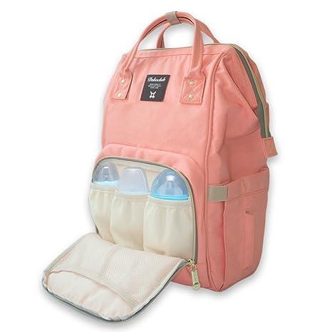 Mefe Nappy bolso cambiador pañales mochila multifunción gran, gran capacidad viaje mochila momia mochila para el cuidado del bebé recién nacido elegante ...