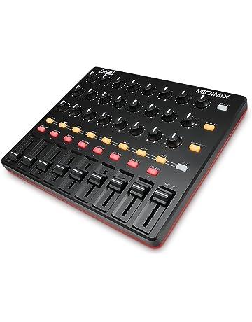Akai Professional MIDIMIX - Mezclador controlador MIDI USB para Ableton, DAW y efectos virtuales,