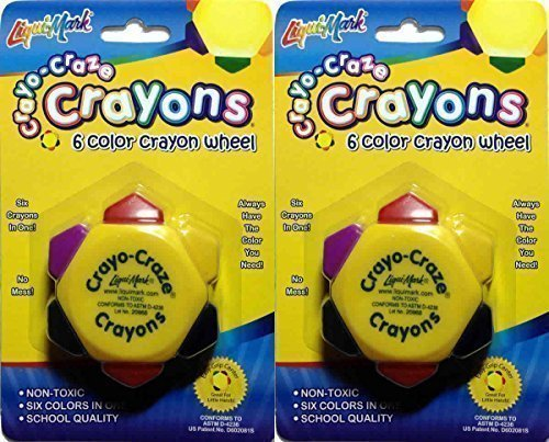 crayo-craze-crayons-6-color-crayon-wheel-pack-of-4