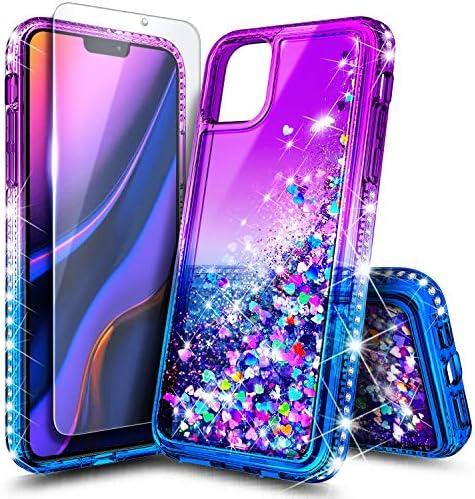 NageBee 글리터 액체 케이스 아이폰 1111 Pro11 Pro Max와 호환 가능 / NageBee 글리터 액체 케이스 아이폰 1111 Pro11 Pro Max와 호환 가능