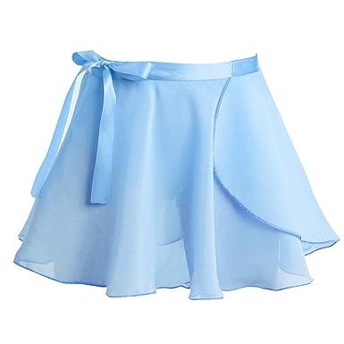 9b1c665ea0f CHICTRY Jupes Paillette Jupe Tulle Multicolore Mini Fille Jupe Tutu Mini  Jupe avec Cravate Danse Jupe