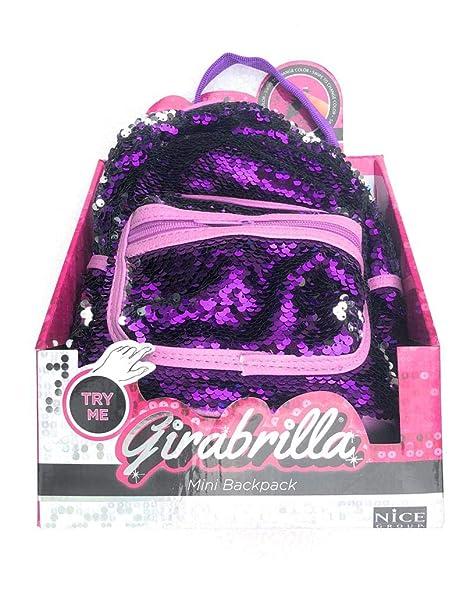 miglior servizio d50fb 43858 Girabrilla mini Zaino di colore Viola - Argento - Girabrilla di Nice 02516