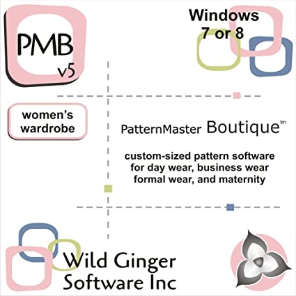 Amazon.com: PatternMaster Boutique v6 Sewing Pattern Software: Software