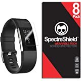 Spectre Shield (8 Pack) Screen Protector for Fitbit Charge 2 Accessory Fitbit Charge 2 Screen Protector Case Friendly…