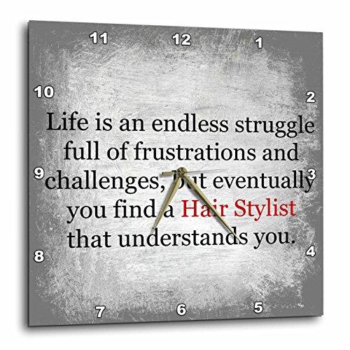 3dRose Endless Struggle Until Stylist