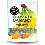 Oso Snacks Organic Dried Banana Bites - Dark and Sweet - No Added Sugar or Preservatives, 26oz