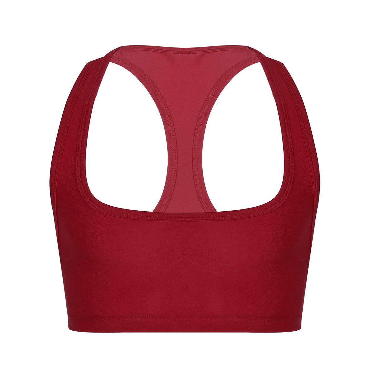 YiZYiF Men's Sleeveless Y Back Muscle Half Tank Top Vest Tee T-Shirts Crop Tops