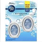 Ambi Pur Bathroom Fresh Air Freshener, Refreshing Soap, 6ml (Pack of 2)