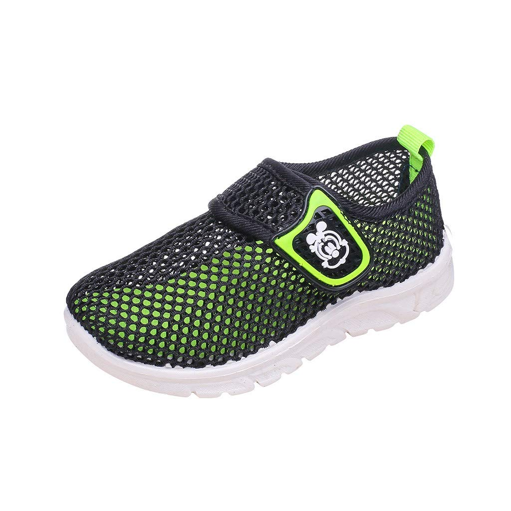 Toddler Kids Baby Boys Girls Mesh Cartoon Sneakers Sport Run Casual Shoes