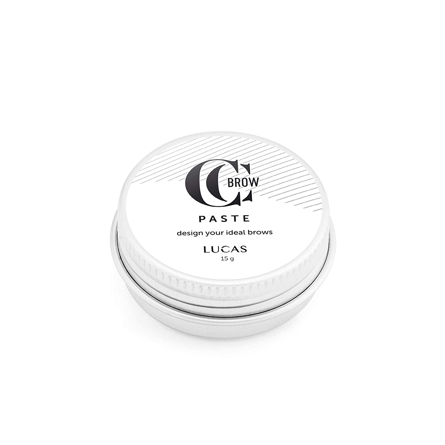Brow Paste by CC Brow - White Eyebrow Mapping Paste, Brow Shape and Define 15 g / 0.5 oz, Eyebrow Tinting Tool
