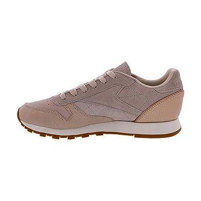 96854bb391142 Reebok - Women's Classic Leather Sneaker - Neutral Sand, 10 B(M) US
