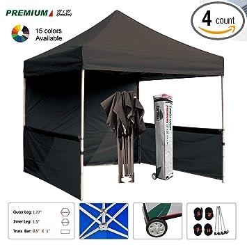 Eurmax Premium 10x10 Trade Show Tent Event Canopy Market Stall Booth Outdoor Bonus