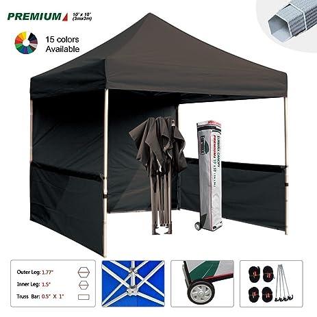 Amazoncom Eurmax Premium 10x10 Pop up Canopy Event Canopy Market