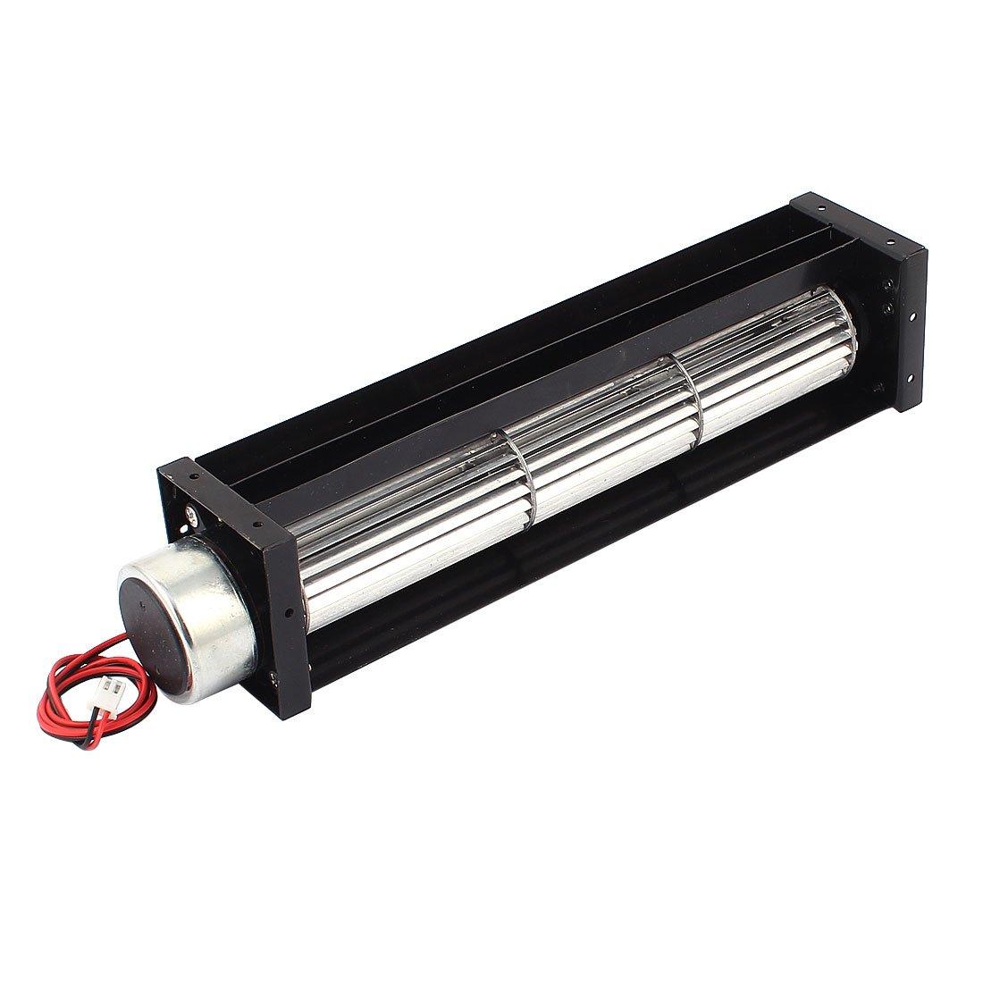 sourcingmap® DC 12V 0.2A Ventilateur refroidissement à flux croisé Amplificateur échangeur de chaleur refroidissement Turbo 30x190mm sourcing map US-SA-AJD-137906