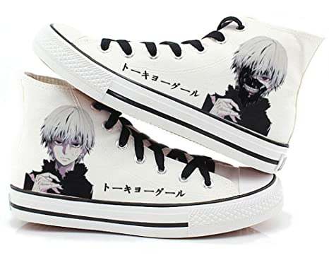 a73921b4fd4f7 Tokyo Ghoul Anime Kaneki Ken Cosplay Shoes Canvas Shoes Sneakers Many  Choices