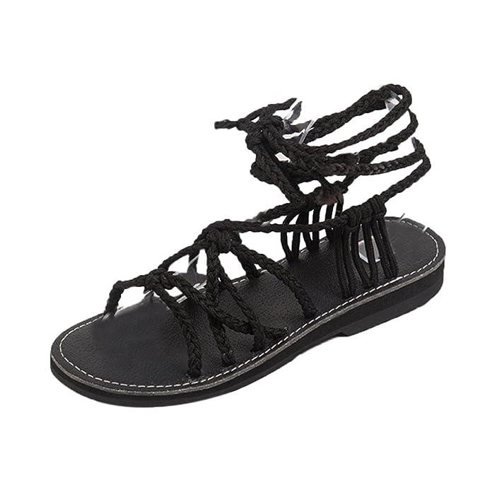 a47a95edc3e DENER Women Ladies Girls Summer Flat Sandals
