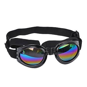 Tendance imperméable pour chien Lunettes Eye protection UV Lunettes de soleil (Noir) 9gugeMUlQD
