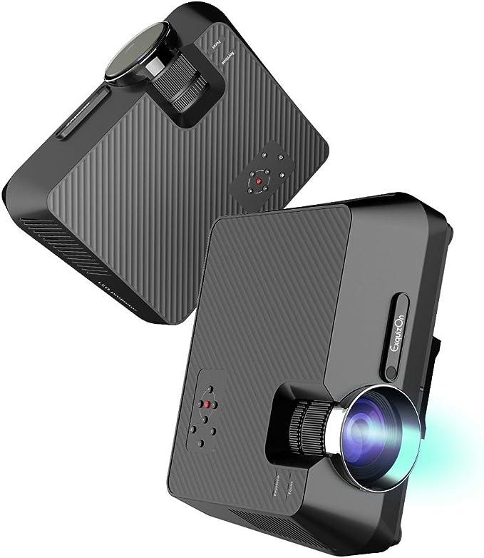 ExquizOn Mini Proyector Portátil GT-S9 Full HD 1080P Proyector LED ...