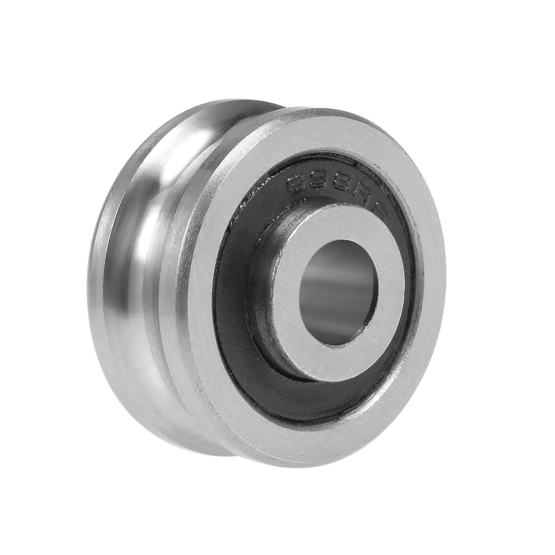 uxcell SG66 U-Groove Track Guide Bearing 6x22x10mm Pulley Wheel Bearings for Textile Machine
