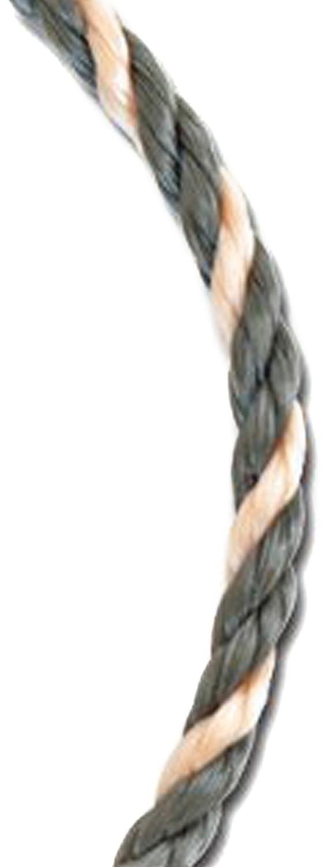Koch 5031636 Twisted Polypropylene Rope 1//2 by 100 Feet Orange//Black
