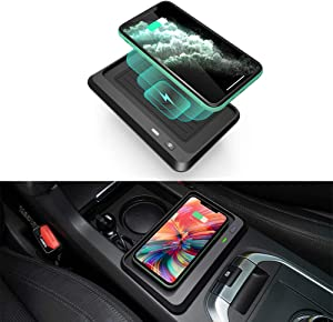 CarQiWireless Wireless Charger for Land Rover Discovery Sport 2015-2019, Center Console Wireless Phone Charging Pad for Land Rover Discovery Sport Accessories - Fast Charger
