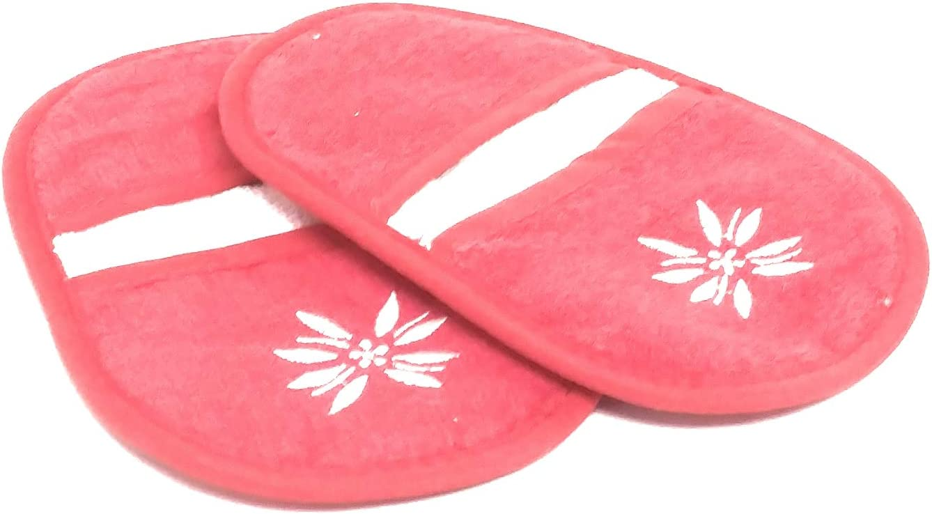 "Temp-tations Set of 2 Mini Oven Mitts/Potholders, Terrycloth, 7"" x 5"" (Old World Red)"