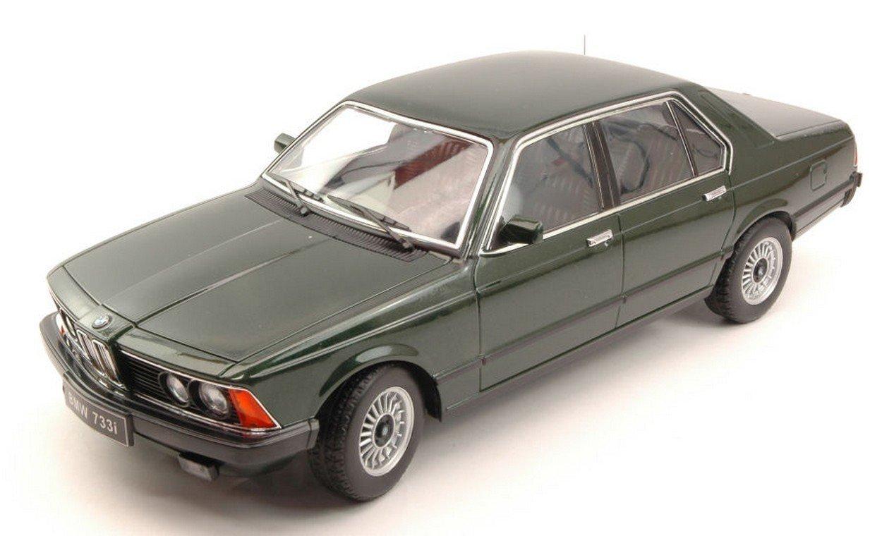 KK SCALE KK180103 BMW 733i E23 1977 DARK Grün METALLIC 1:18 MODELLINO DIE CAST
