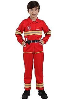 Amazon.com: Ugoccam Fireman Uniform - Disfraz de bomberos ...